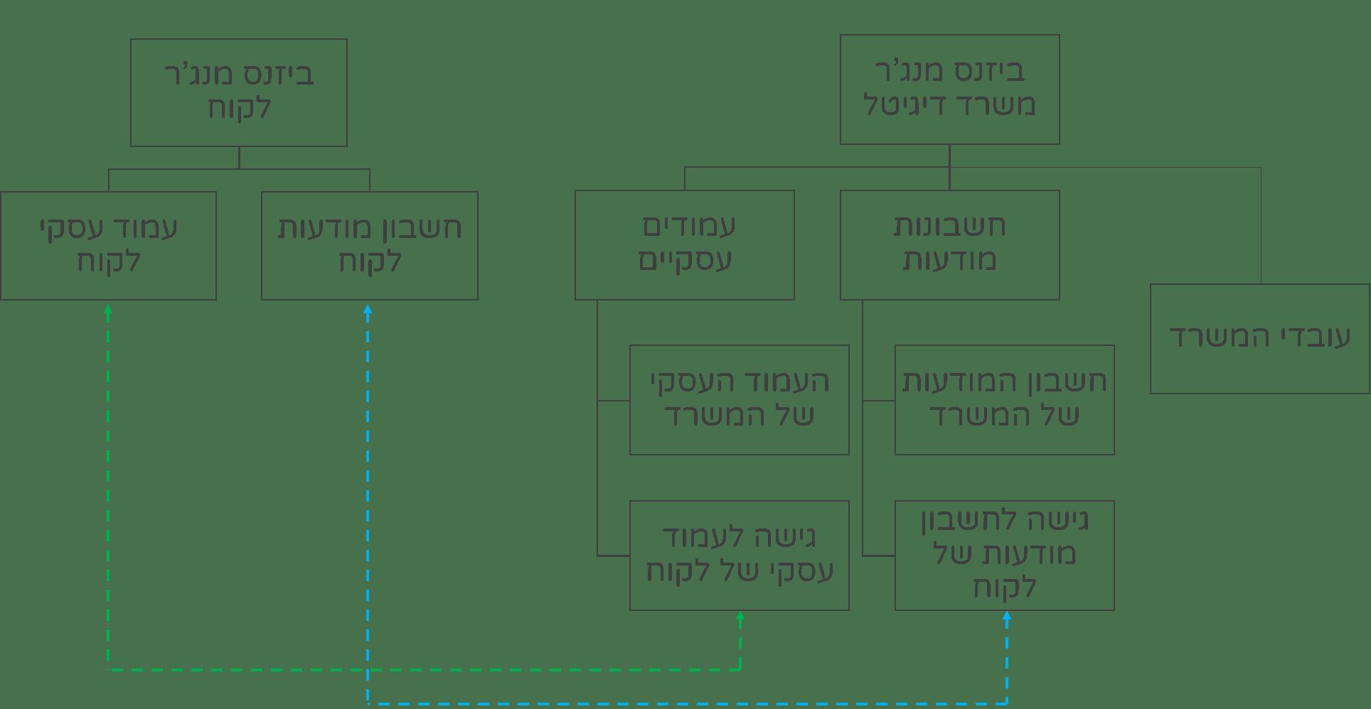 מבנה התנהלות ביזנס מנג'ר