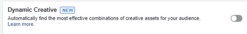 מודעות דינמיות בפייסבוק